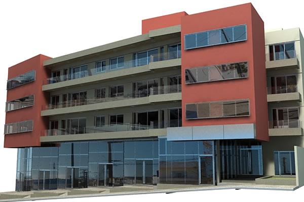 Edificios en Altura - Vivienda Colectiva - Tesoriero & Miciu - Nicolaevici